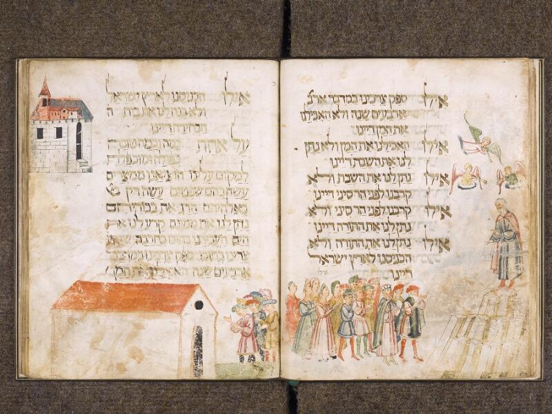 CHANTILLY, Bibliothèque du château, 0732 (1352), f. 019v - 020