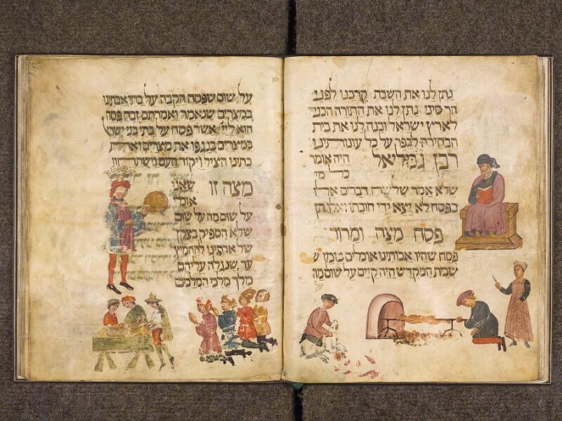CHANTILLY, Bibliothèque du château, 0732 (1352), f. 020v - 021