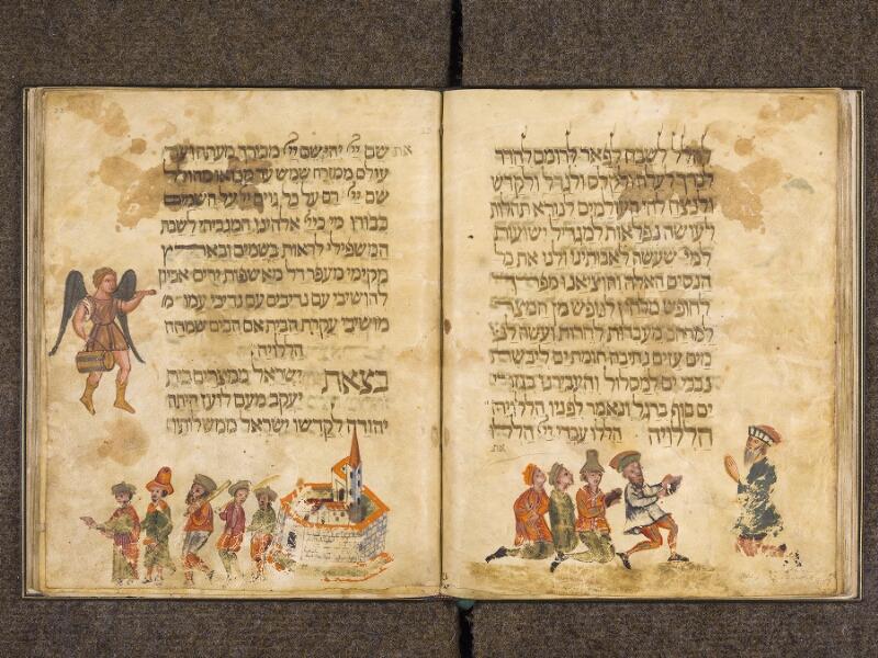 CHANTILLY, Bibliothèque du château, 0732 (1352), f. 022v - 023