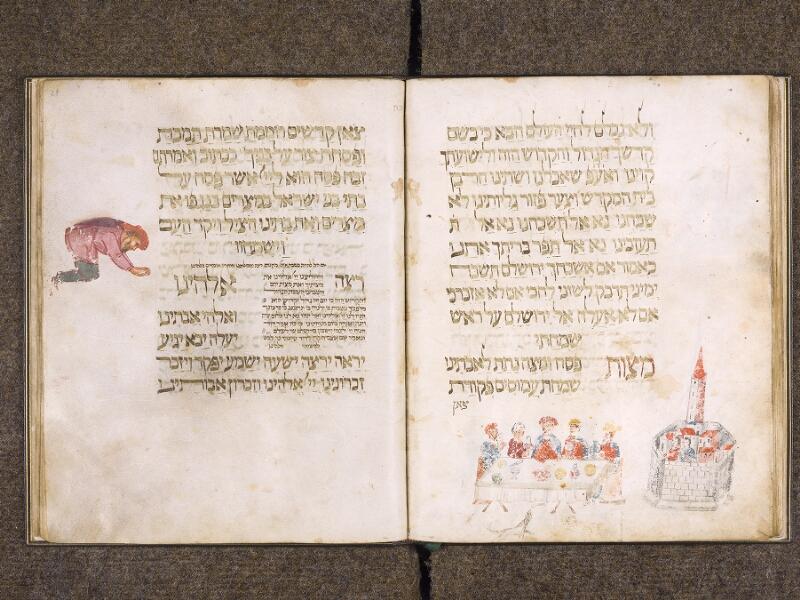 CHANTILLY, Bibliothèque du château, 0732 (1352), f. 027v - 028