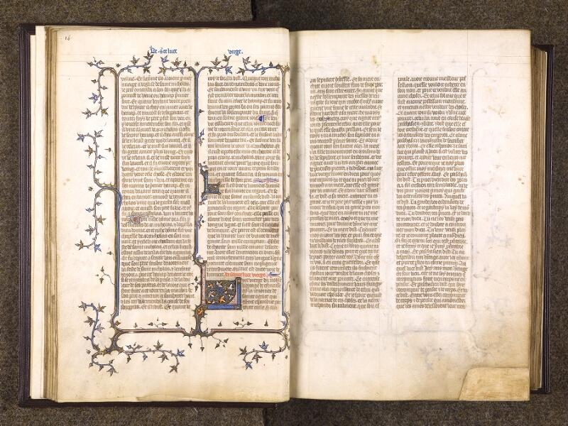 CHANTILLY, Bibliothèque du château, 0735 (1335), f. 016v - 017