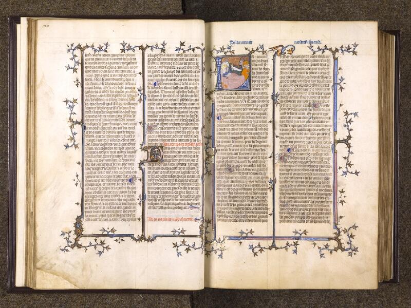 CHANTILLY, Bibliothèque du château, 0735 (1335), f. 020v - 021