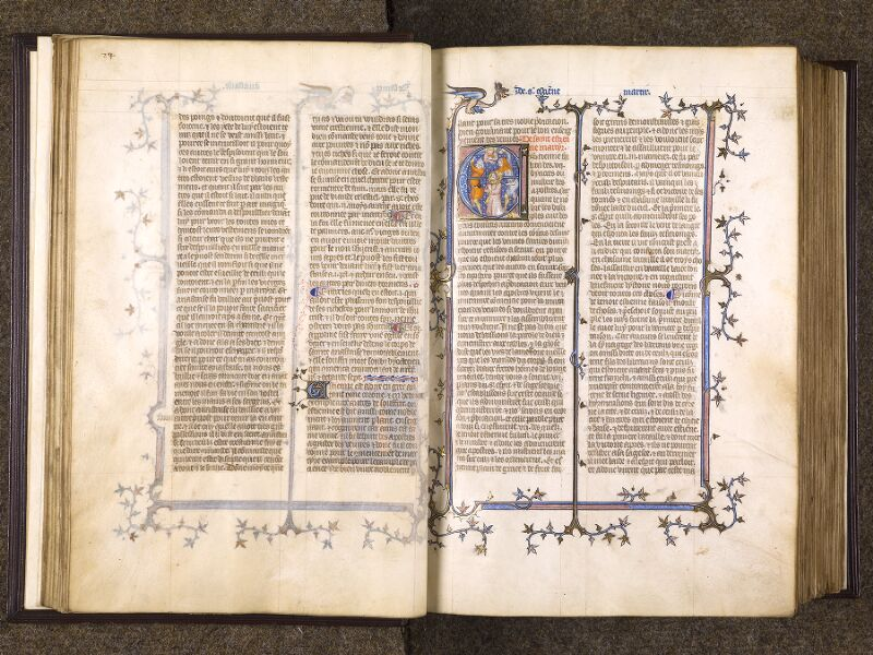 CHANTILLY, Bibliothèque du château, 0735 (1335), f. 024v - 025