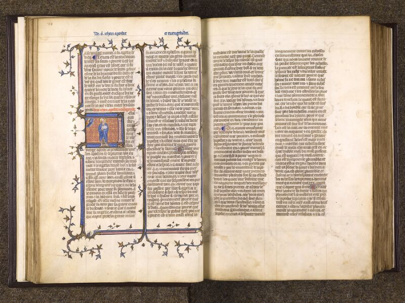 CHANTILLY, Bibliothèque du château, 0735 (1335), f. 027v - 028