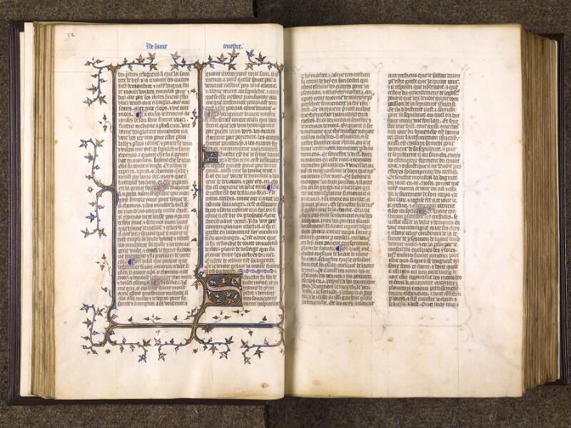 CHANTILLY, Bibliothèque du château, 0735 (1335), f. 032v - 033