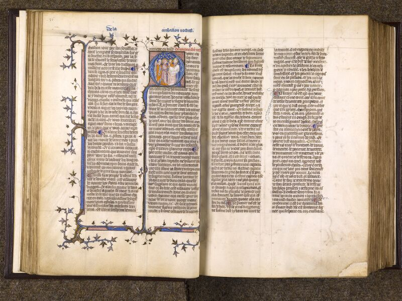 CHANTILLY, Bibliothèque du château, 0735 (1335), f. 036v - 037