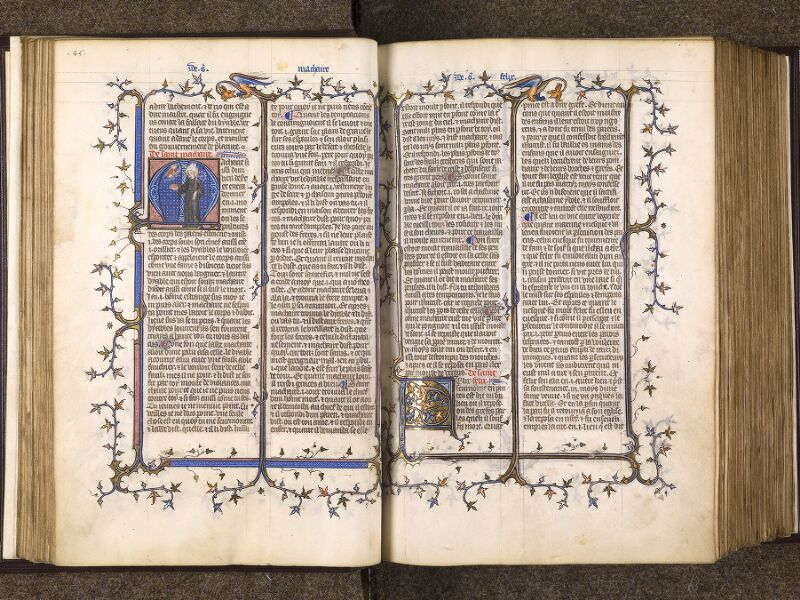 CHANTILLY, Bibliothèque du château, 0735 (1335), f. 045v - 046