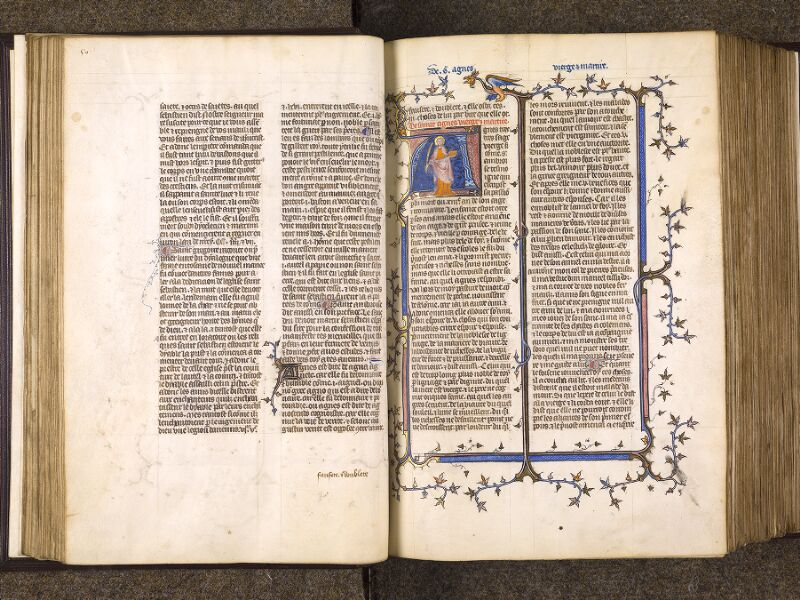 CHANTILLY, Bibliothèque du château, 0735 (1335), f. 050v - 051