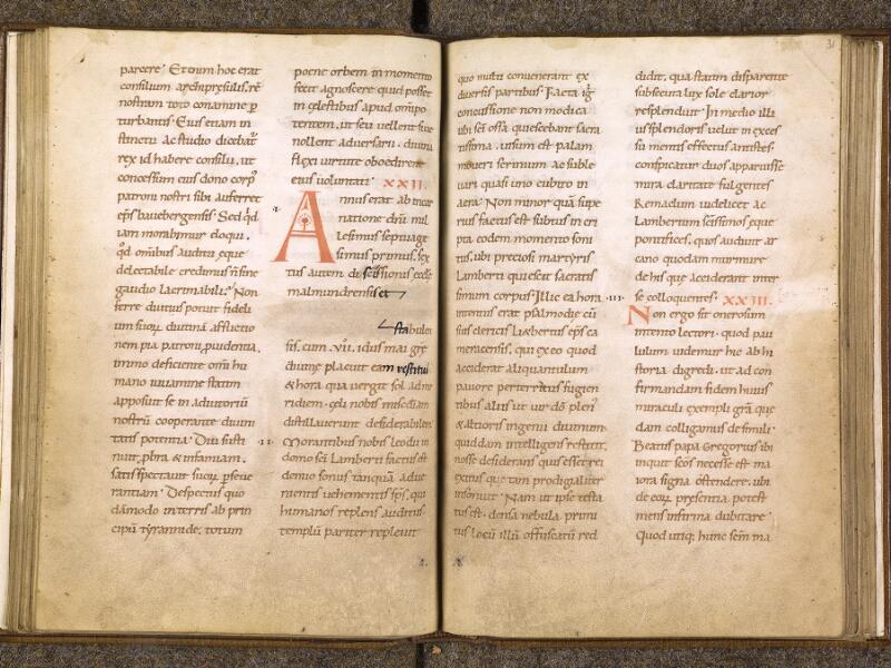 CHANTILLY, Bibliothèque du château, 0740 (1043), f. 030v - 031