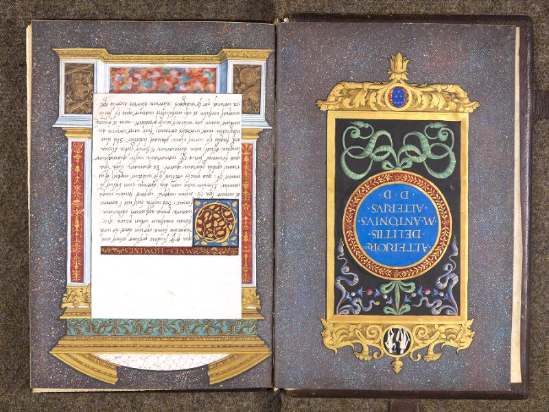 CHANTILLY, Bibliothèque du château, 0762 (1331), contregarde - f. 001