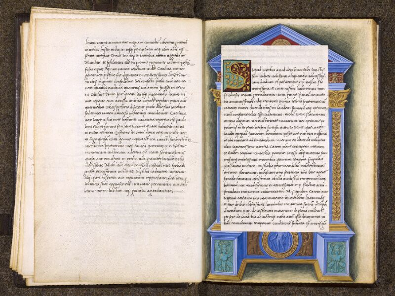 CHANTILLY, Bibliothèque du château, 0762 (1331), f. 021v - 022