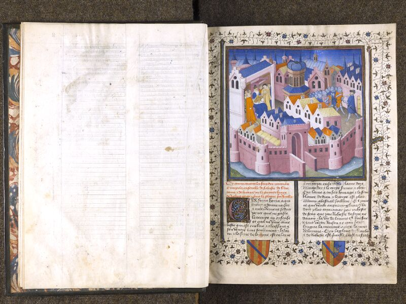 CHANTILLY, Bibliothèque du château, 0769 (0466), f. 000Dv - 001