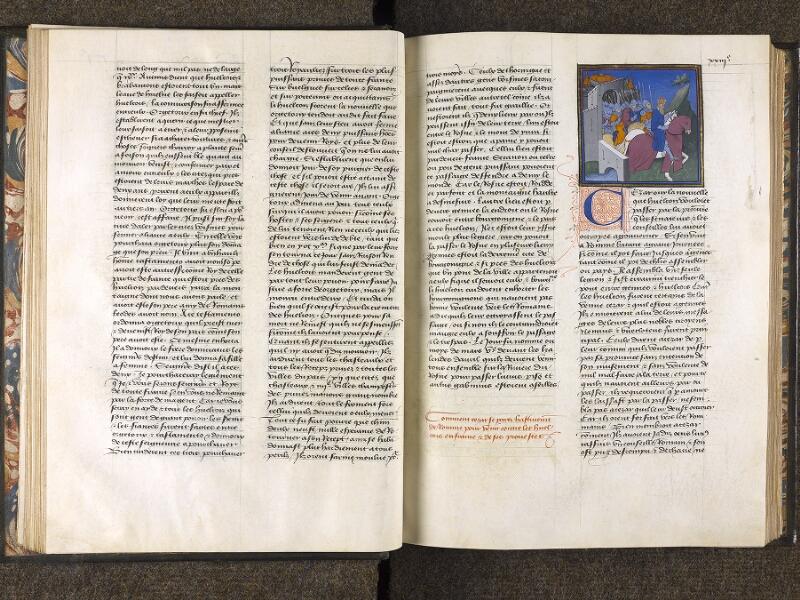 CHANTILLY, Bibliothèque du château, 0769 (0466), f. 022v - 023