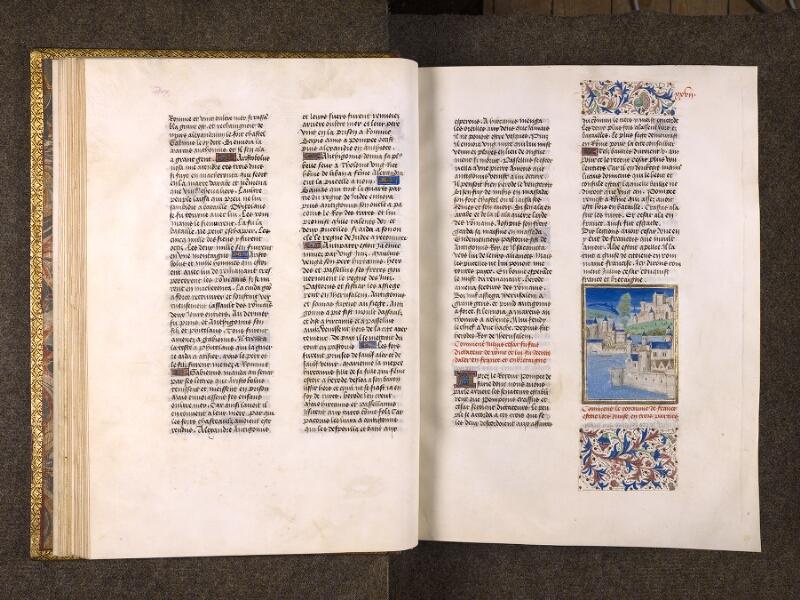 CHANTILLY, Bibliothèque du château, 0770 (1055), f. 026v - 027
