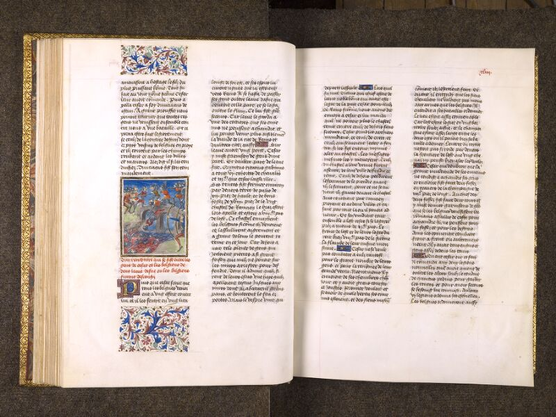 CHANTILLY, Bibliothèque du château, 0770 (1055), f. 043v - 044