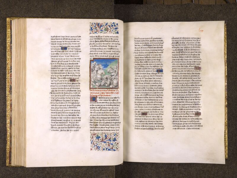 CHANTILLY, Bibliothèque du château, 0770 (1055), f. 068v - 069