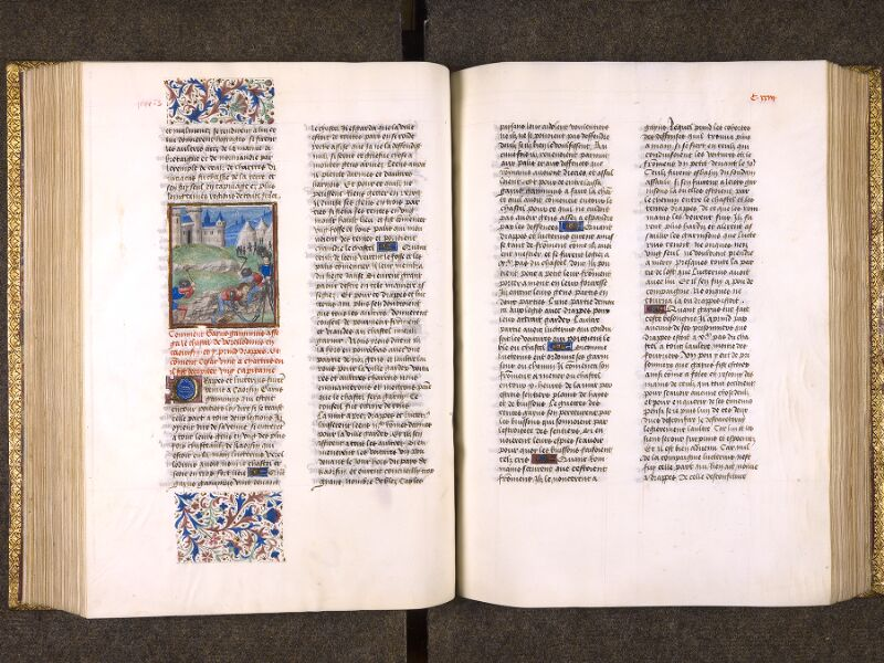 CHANTILLY, Bibliothèque du château, 0770 (1055), f. 122v - 123