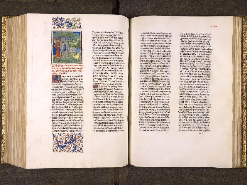 CHANTILLY, Bibliothèque du château, 0770 (1055), f. 216v - 217