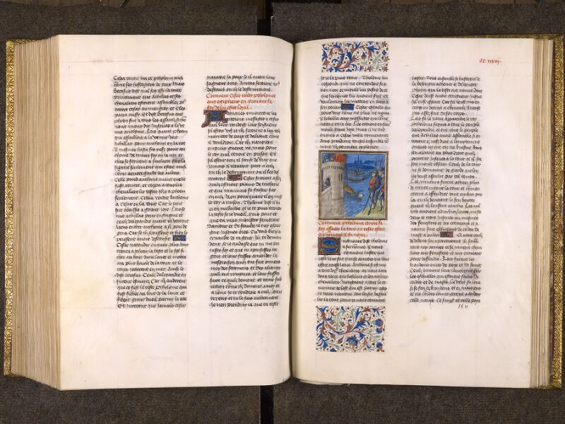 CHANTILLY, Bibliothèque du château, 0770 (1055), f. 232v - 233