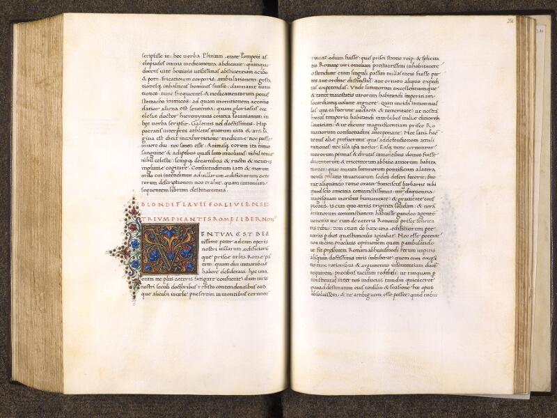 CHANTILLY, Bibliothèque du château, 0772 (1419), f. 255v - 256