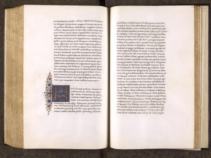 CHANTILLY, Bibliothèque du château, 0772 (1419), f. 256v - 257