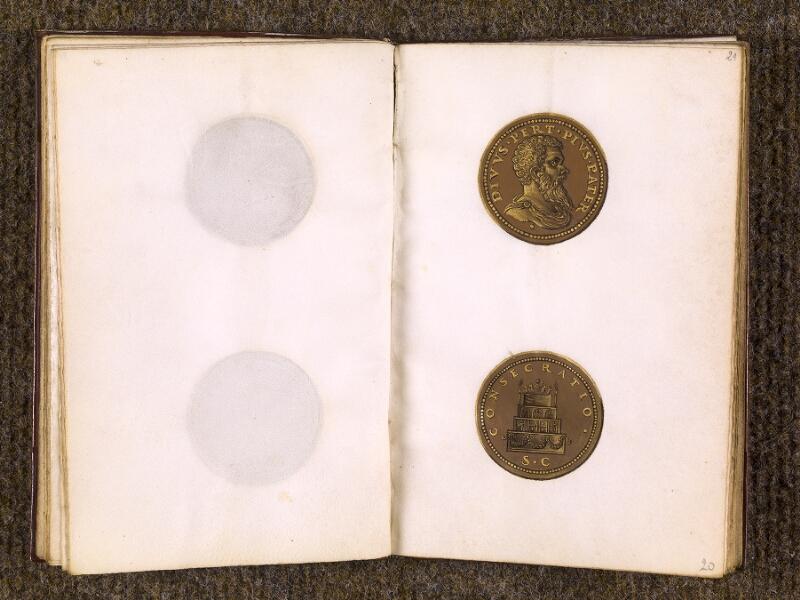 CHANTILLY, Bibliothèque du château, 0773 (1575), f. 020v - 021