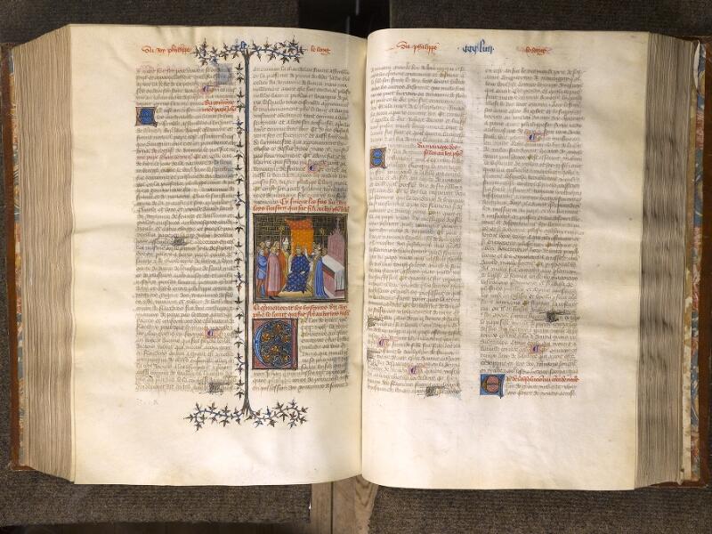 CHANTILLY, Bibliothèque du château, 0867 (0324), f. 353v - 354