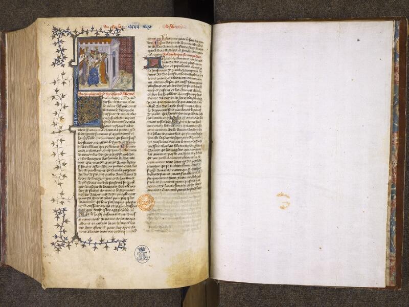 CHANTILLY, Bibliothèque du château, 0867 (0324), f. 490v - feuillet vierge