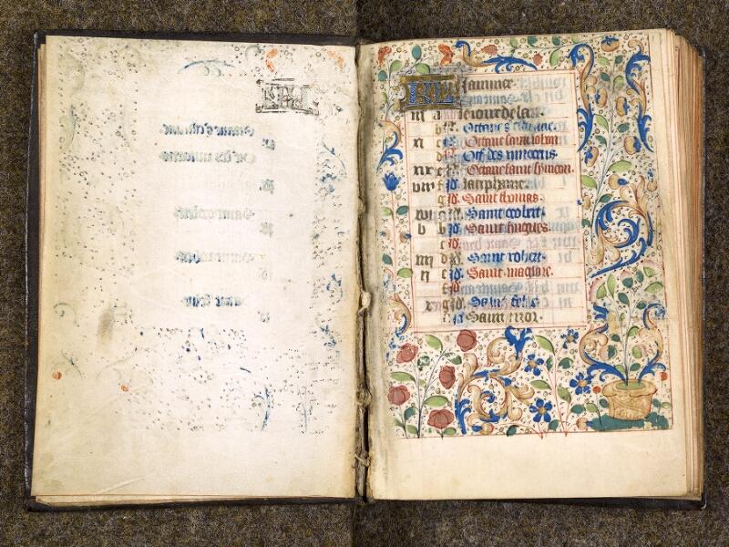 CHANTILLY, Bibliothèque du château, 1480 (1966), contregarde - f. 001
