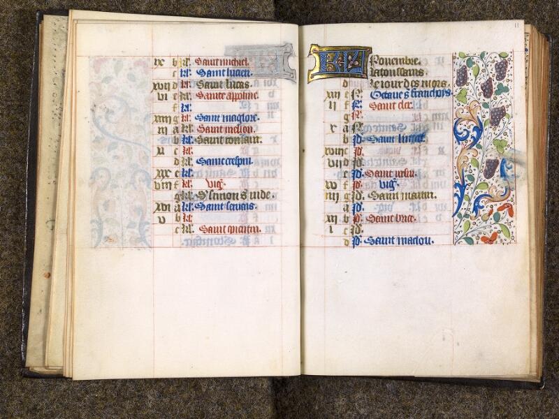 CHANTILLY, Bibliothèque du château, 1480 (1966), f. 010v - 011