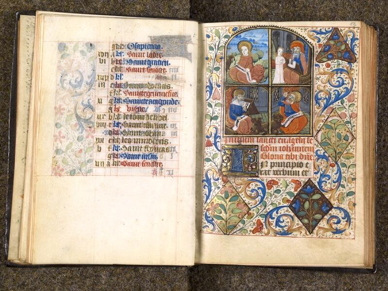 CHANTILLY, Bibliothèque du château, 1480 (1966), f. 012v - 013