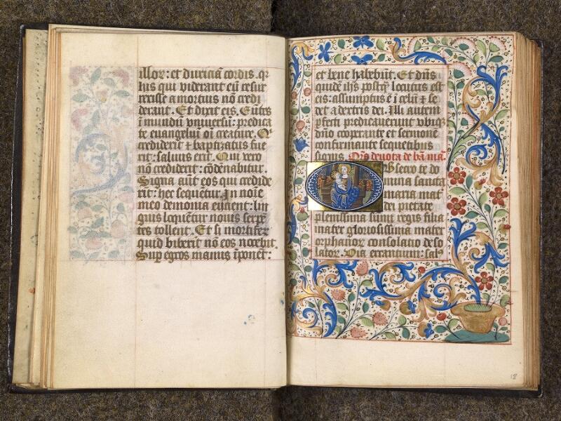 CHANTILLY, Bibliothèque du château, 1480 (1966), f. 017v - 018