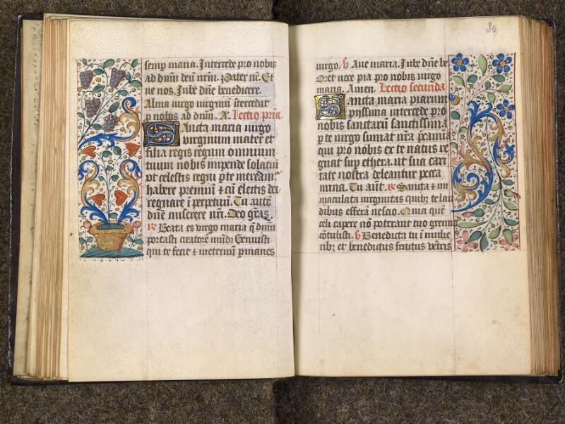 CHANTILLY, Bibliothèque du château, 1480 (1966), f. 029v - 030
