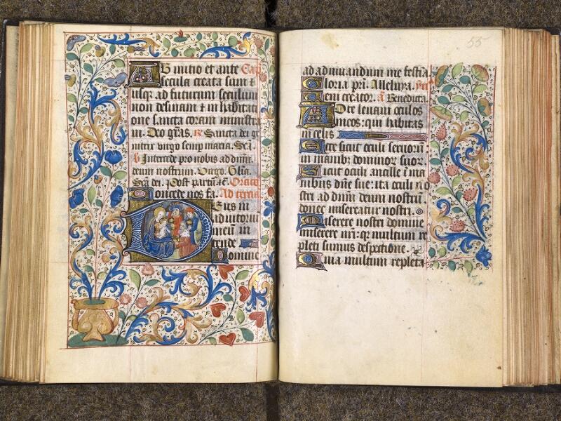 CHANTILLY, Bibliothèque du château, 1480 (1966), f. 054v - 055