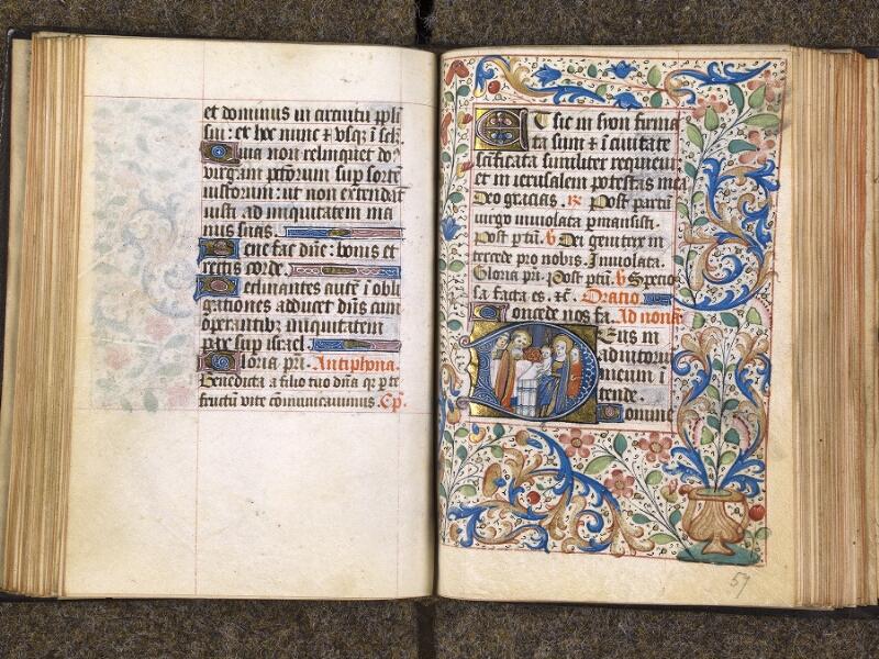 CHANTILLY, Bibliothèque du château, 1480 (1966), f. 056v - 057