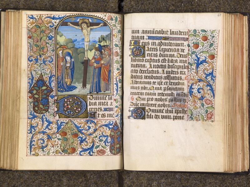 CHANTILLY, Bibliothèque du château, 1480 (1966), f. 066v - 067
