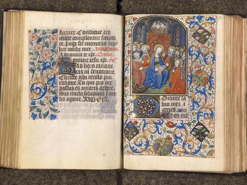 CHANTILLY, Bibliothèque du château, 1480 (1966), f. 069v - 070