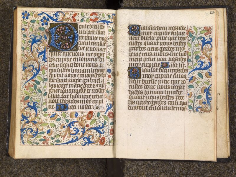 CHANTILLY, Bibliothèque du château, 1480 (1966), f. 126v - 127