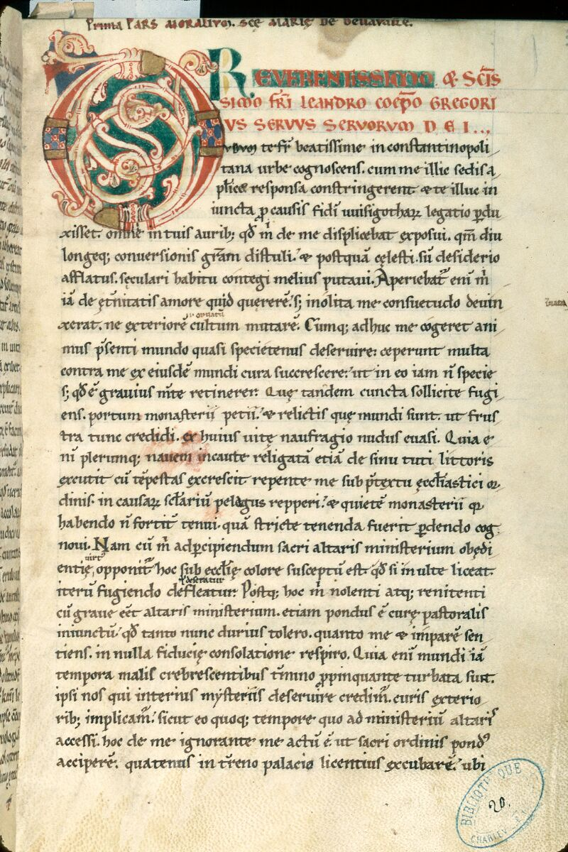 Charleville-Mézières, Bibl. mun., ms. 0020, t. I, f. 003