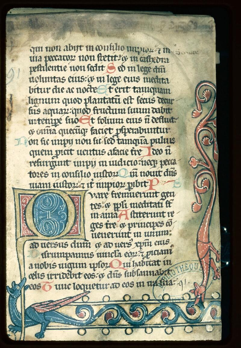 Charleville-Mézières, Bibl. mun., ms. 0091, f. 001