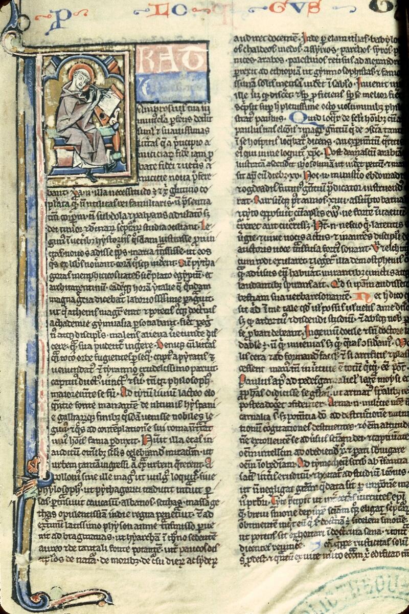 Charleville-Mézières, Bibl. mun., ms. 0107, f. 001