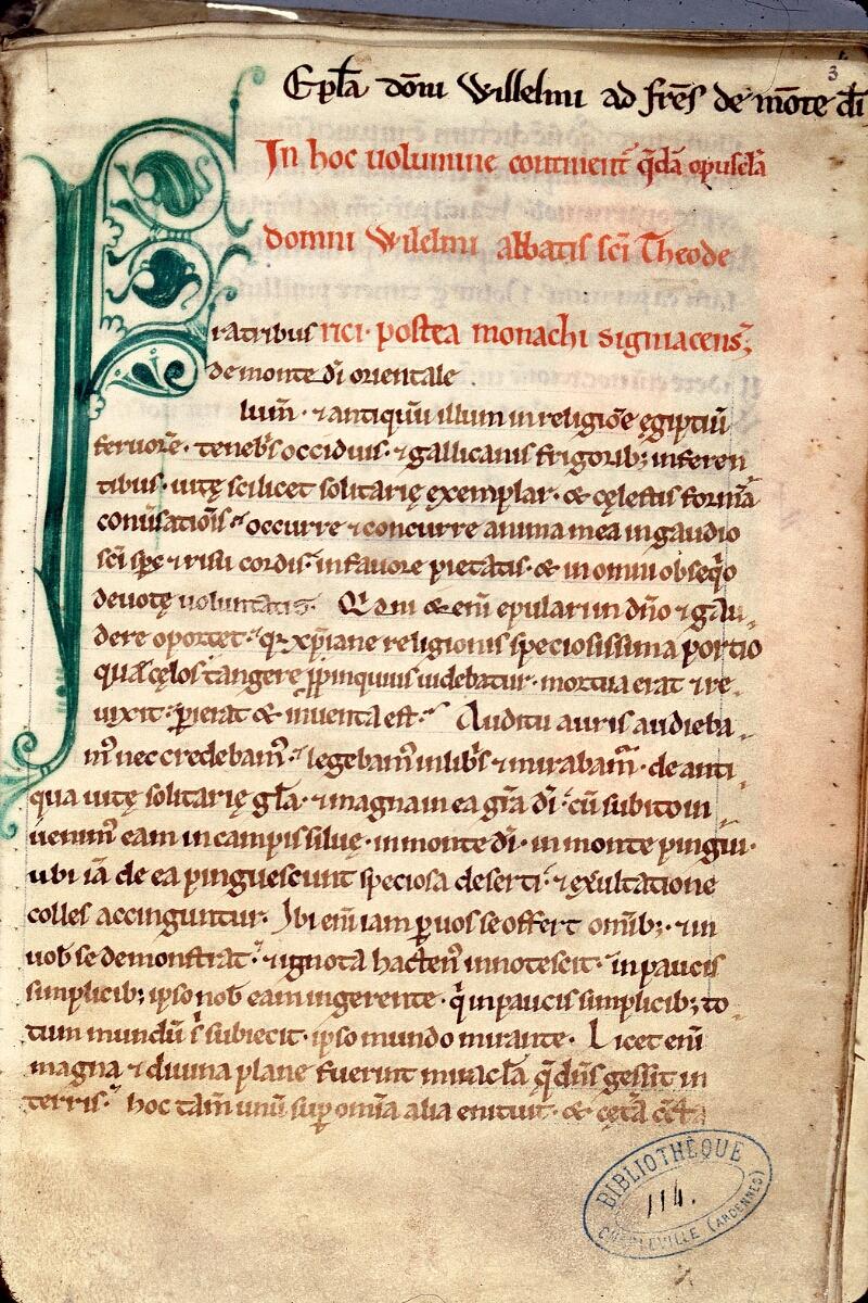 Charleville-Mézières, Bibl. mun., ms. 0114, f. 003