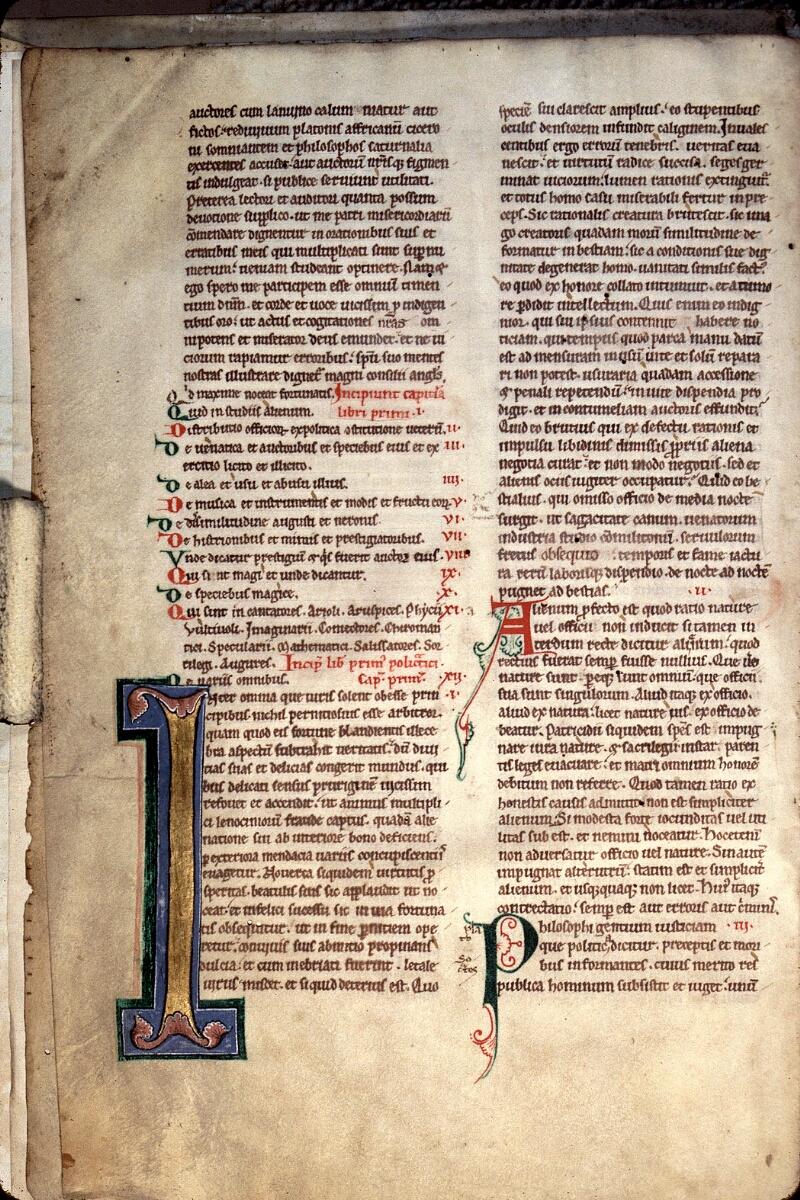 Charleville-Mézières, Bibl. mun., ms. 0151, f. 002v - vue 1