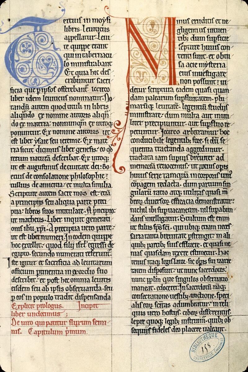 Charleville-Mézières, Bibl. mun., ms. 0158, t. II, f. 002