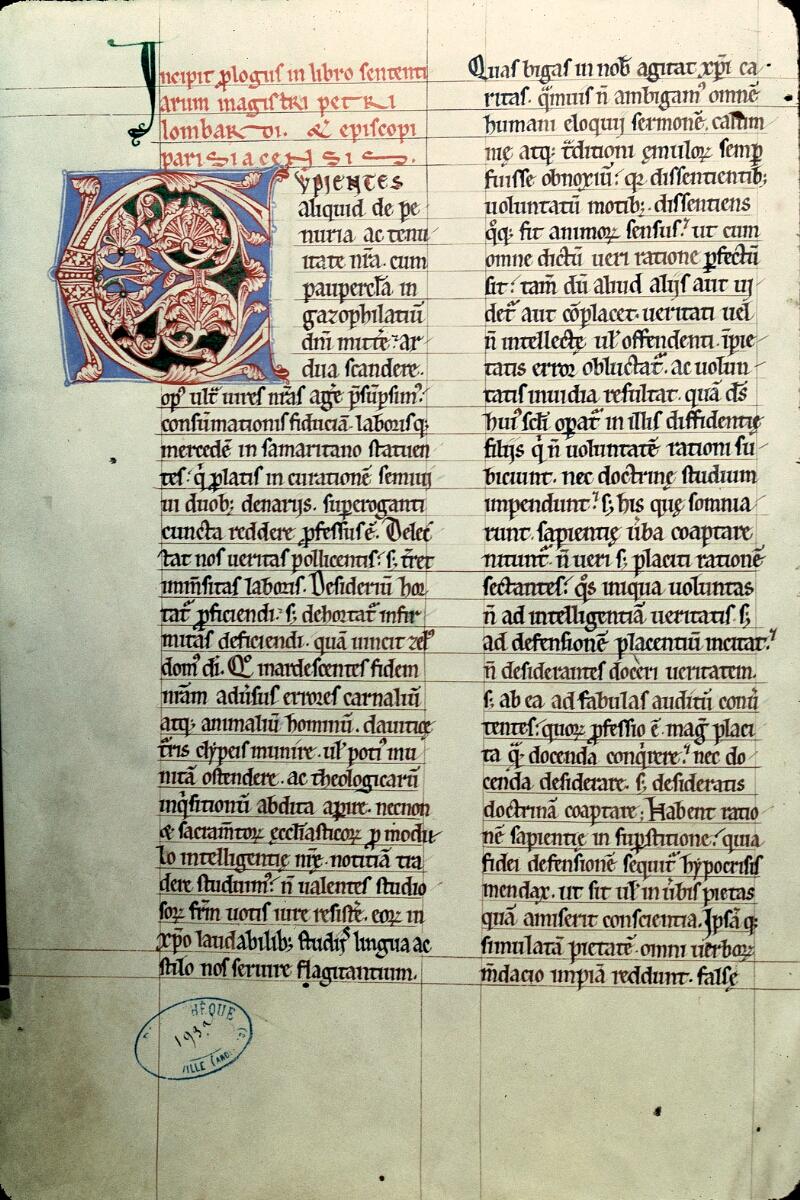 Charleville-Mézières, Bibl. mun., ms. 0193 A, t. I, f. 001v