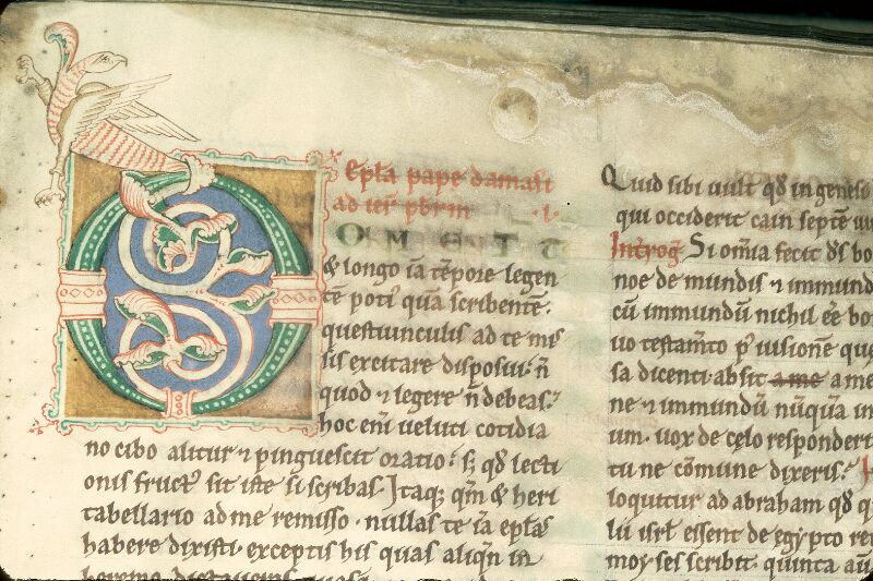 Charleville-Mézières, Bibl. mun., ms. 0196 D, t. I, f. 002 - vue 2