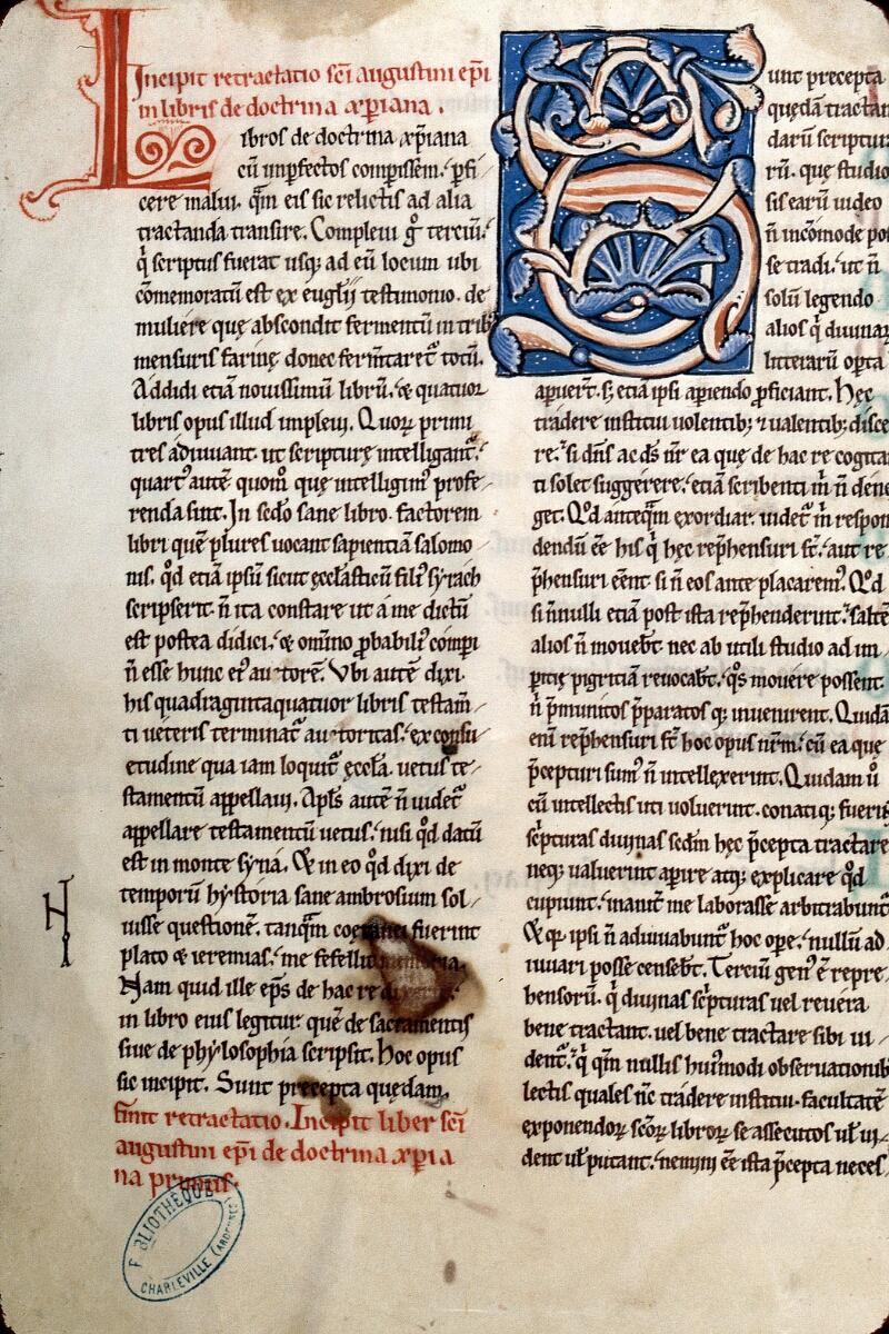 Charleville-Mézières, Bibl. mun., ms. 0202, t. XIV, f. 002v