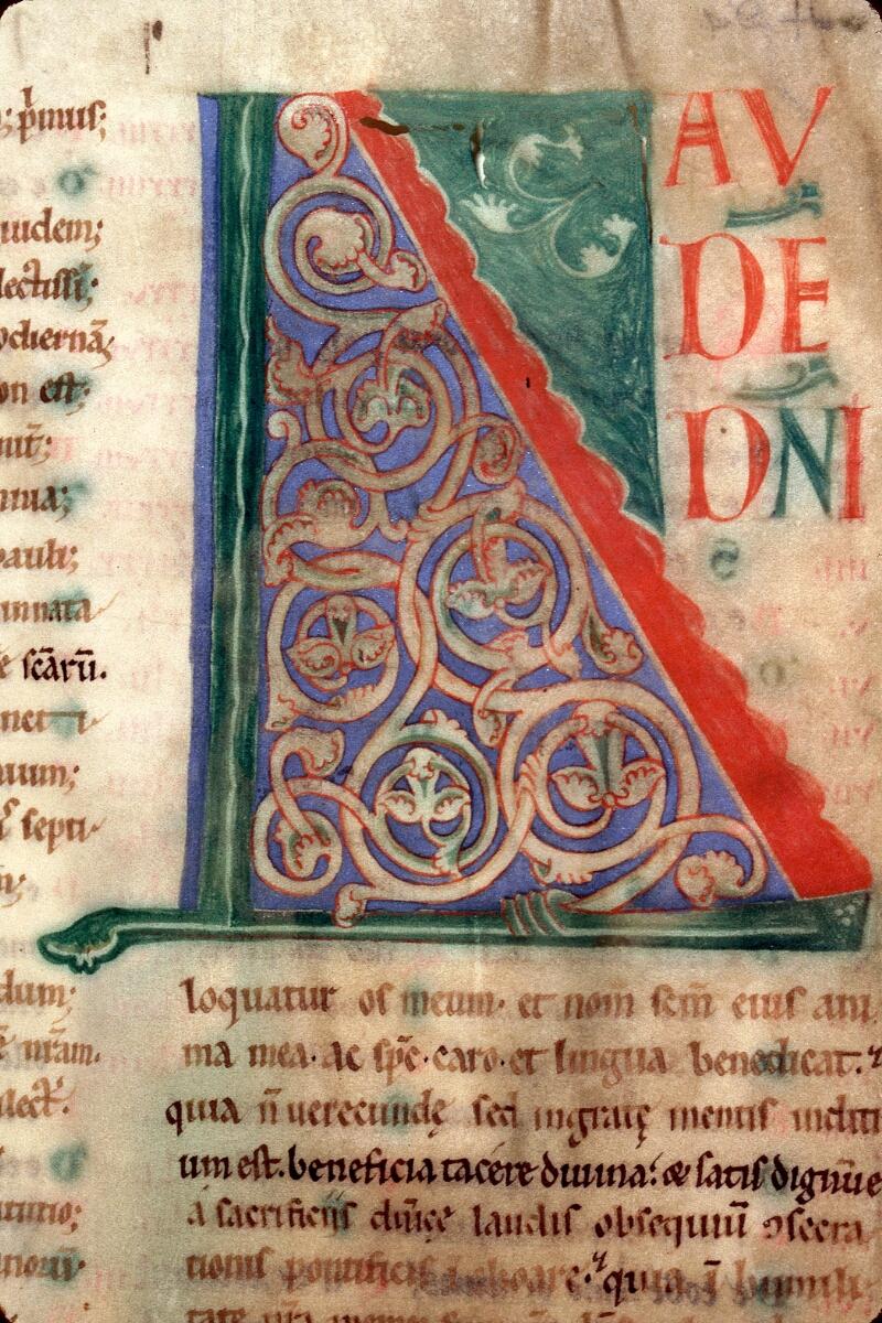 Charleville-Mézières, Bibl. mun., ms. 0223, f. 001v - vue 2