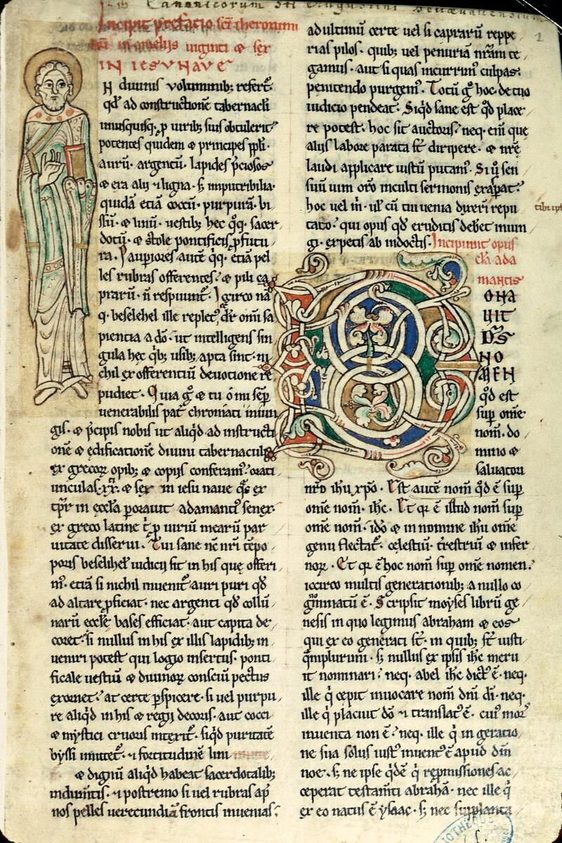 Charleville-Mézières, Bibl. mun., ms. 0245, t. II, f. 001 - vue 1