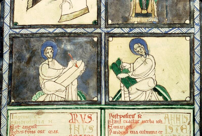 Charleville-Mézières, Bibl. mun., ms. 0246 B, t. I, f. 001v - vue 4